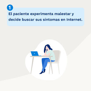 El paciente digital busca en internet